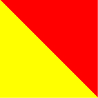 Red- Fluo yellow